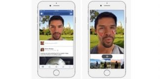 Facebook Tests Snapchat-like Camera With Filters & Stickers