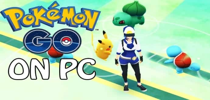 How to play pokmon go on your pclaptop techworm catch pokemon with pokemon go on your pclaptop without ever leaving your desk but its a little bit messy voltagebd Gallery