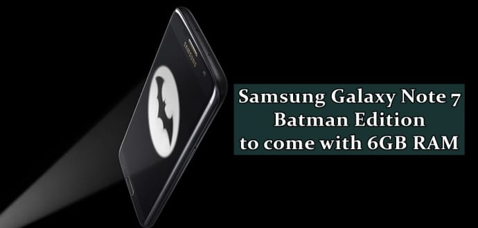 Samsung Galaxy Note 7 with 6GB RAM spotted