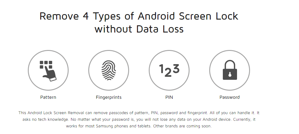 How to Unlock your Samsung Screen Lock with Dr.Fone - Android Lock Screen Removal