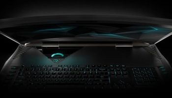 Acer unveils Predator 21 X, a gaming laptop with curved display, dual GTX 1080s and five fans