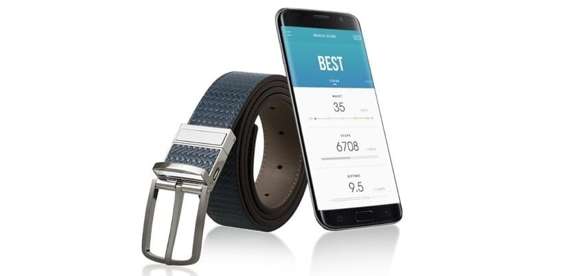 Samsung's smart belt, Welt, will monitor your waistline
