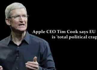 EU tax ruling 'total political crap,' says Apple CEO Tim Cook