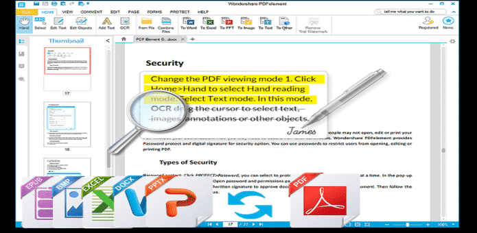 How to use Wondershare PDFelement to edit your PDF documents