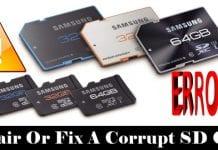 How to Repair/Fix a Corrupt SD Card