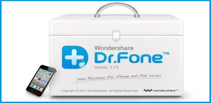 Wondershare Dr. Fone iOS, iPhone Data Recovery Tool \u00bb TechWorm
