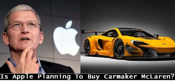 Is Apple buying F1 carmaker McLaren?