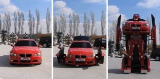 'Transformer' BMW Turns Into A Giant Robot