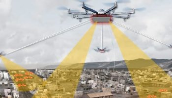 DARPA wants an 'Aerial Dragnet' to track drones flying over cities