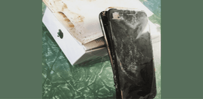 Apple iPhone 7 follows Samsung Galaxy Note 7, explodes inside package, claims the owner