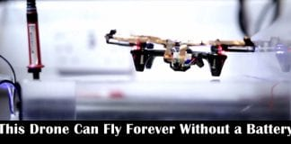 This Drone Can Fly Forever Without a Battery