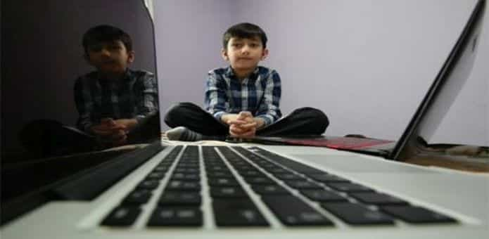 Seven-year-old British-Pakistani boy becomes the world's youngest computer programmer