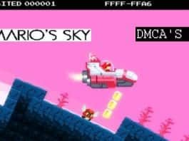 """In protest against Nintendo's legal threats, developers rename the game """"No Mario's Sky"""" to 'DMCA's Sky'"""