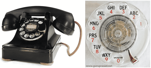 older telephones