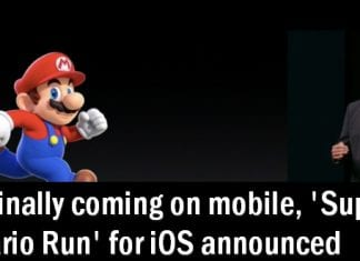 Mario Is Coming Exclusively To Apple iOS With 'Super Mario Run'