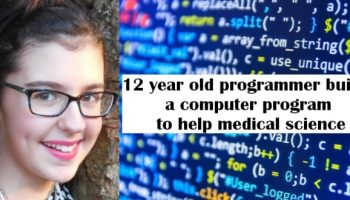 This 12-year-old computer programmer built a computer program that will bless the medical science