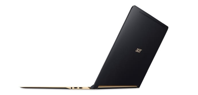 "Acer launches the ""world's thinnest laptop"" now available for order starting at $999"