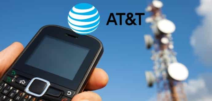 at&t cell phone outage today