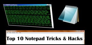 10 Super Cool Notepad Tricks, Hacks & Commands For Your PC