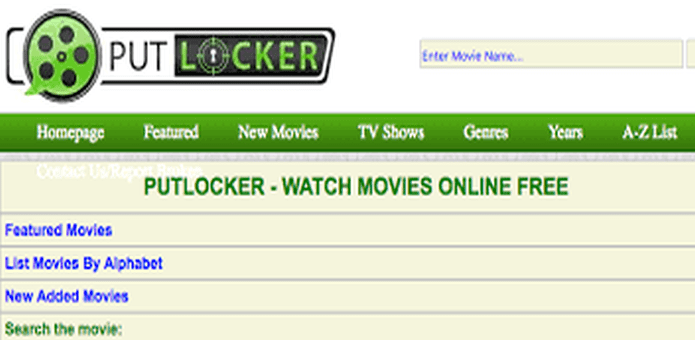 Yet Another Video Streaming Service Bites The Dust, Putlocker Shuts Down