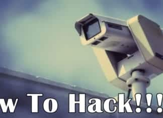 How to hack a security CCTV camera (video)