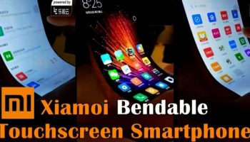 Xiaomi made a smartphone with bendable touchscreen