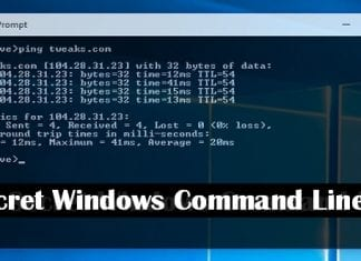 Top 10 hidden Windows secret command line tricks and hacks