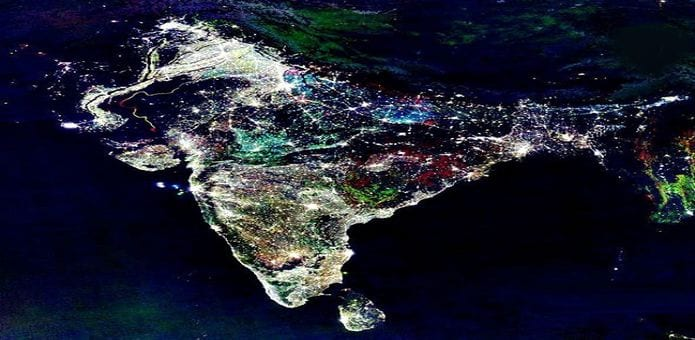 The real image of diwali night in india vs the fake nasa image reality behind the fake nasa image of diwali night in india from space on diwali night sciox Choice Image