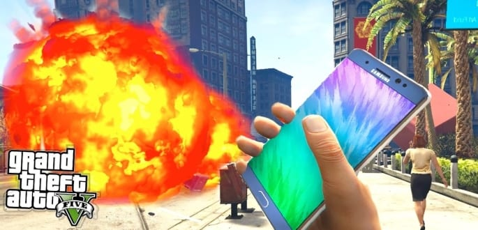 Samsung got YouTube to remove GTA 5 mod video that replaced bombs