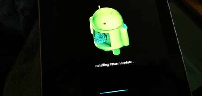 how to change your android os