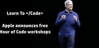Apple's Free 'Hour Of Code' Workshops To Be Held In Its Stores Next Month