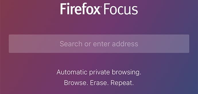 Firefox Focus: Mozilla's privacy-focused new browser for iOS devices