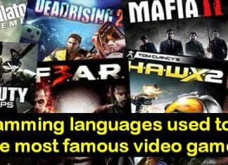 Top programming languages used for coding video games