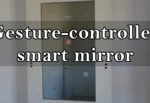 How to turn your wall into a gesture-controlled smart mirror