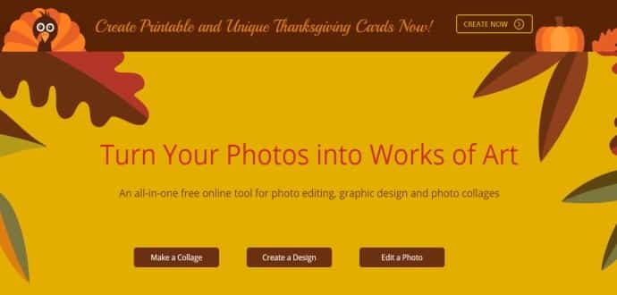 Turn your photos into works of art with online photo editor, FotoJet