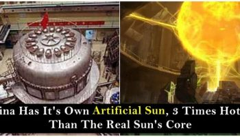 """China's """"Artificial Sun"""" Manages To Stay On For A Minute"""