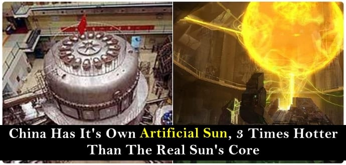 "China's ""Artificial Sun"" Manages To Stay On For A Minute"