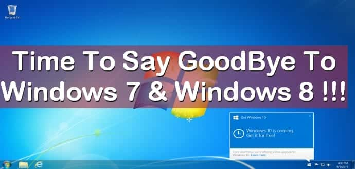 Microsoft puts an end to OEM sales of Windows 7 and Windows 8