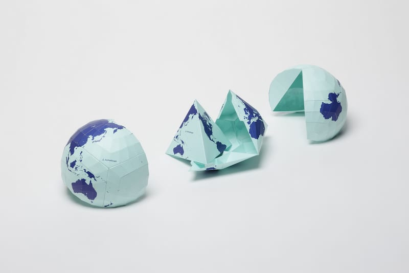 This World Map Is So Accurate That It Can Actually Be Folded Into A Globe