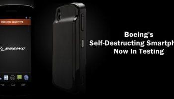 Boeing starts real-world testing of self-destructing smartphone