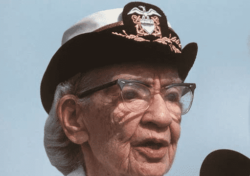 COBOL Creators Grace Hopper, along with other members of the Conference on Data Systems Languages Records