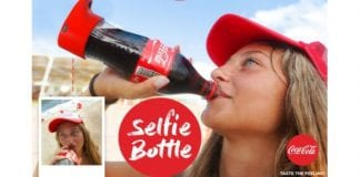 Selfie Craze : Coca-Cola comes up with a built-in selfie-camera bottle