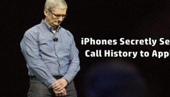 iPhones Secretly Send Call History to Apple
