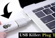This homemade USB killer delivers 300 volts & instantly kills any computer