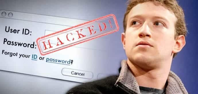 Facebook's Mark Zuckerberg Pinterest Account Hacked Again
