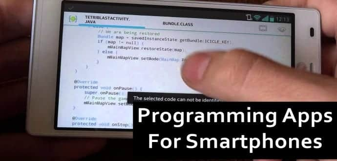 Top 5 smartphone apps to learn programming on the go
