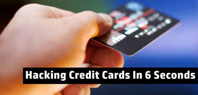 Distributed Guessing Attack Allows Hackers To Guess Your Credit Information In 6 Seconds (Video)