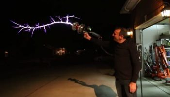 This Tesla Coil Gun is an inspiration taken from video games and brought into the real world