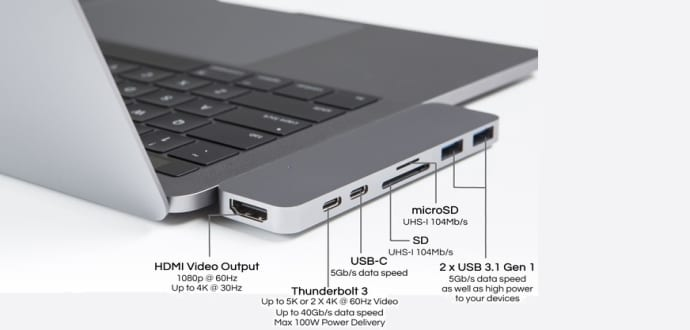 HyperDrive Dongle: Answer To Apple's New MacBook Pro Biggest Problem
