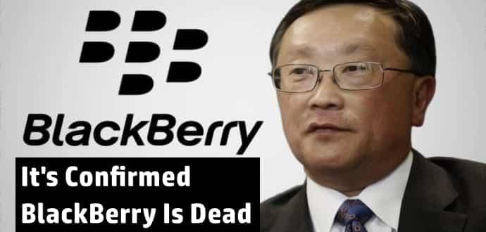 BlackBerry Is Officially Dead